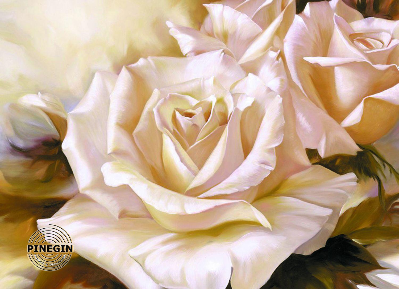 Фотообои «Живописная роза»