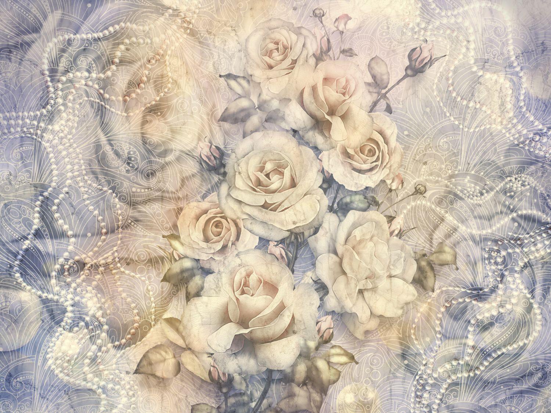 Фотообои «Винтажные розы»