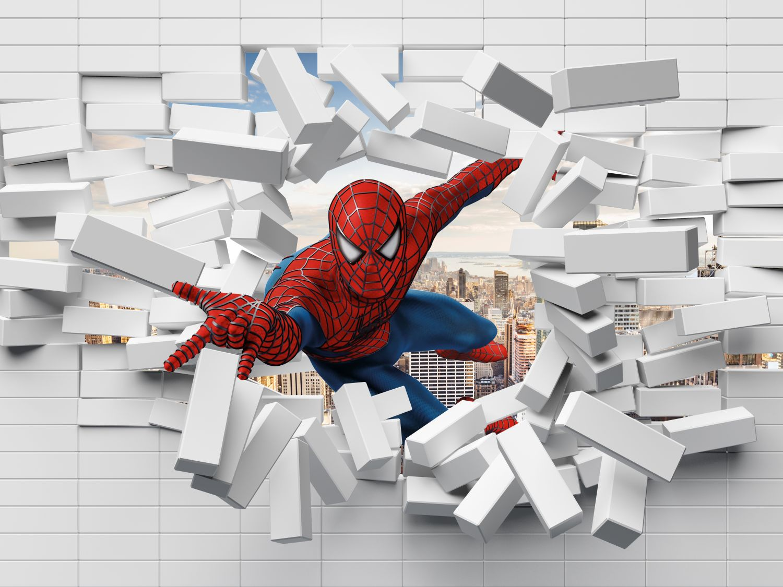 Фотообои «Человек паук»