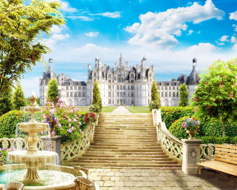 Фотообои «Лестница в королевский дворец»