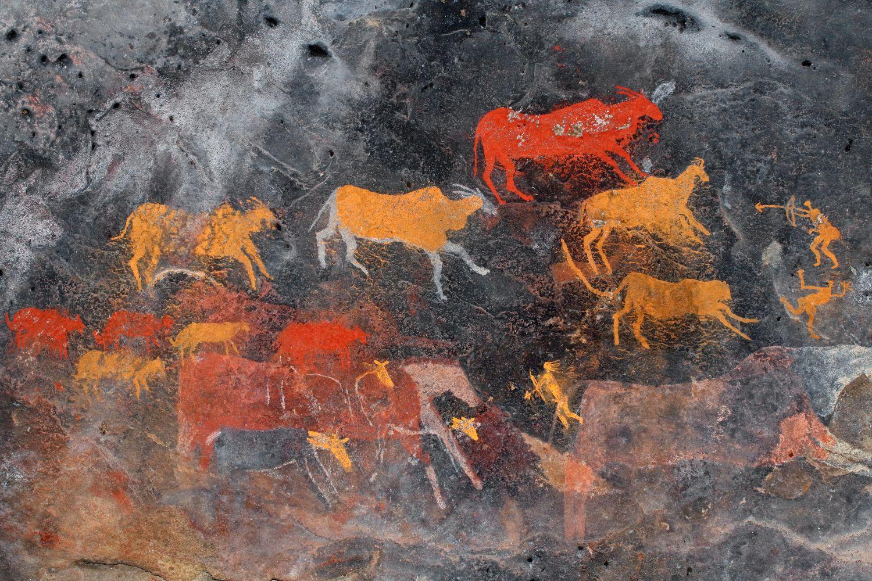 Фрески «Африка 8»