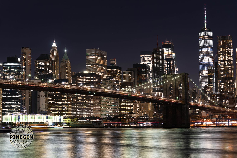 Фотообои «Мост в ночи»