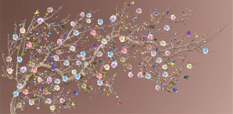 Фотообои «Шинуазри дерево»