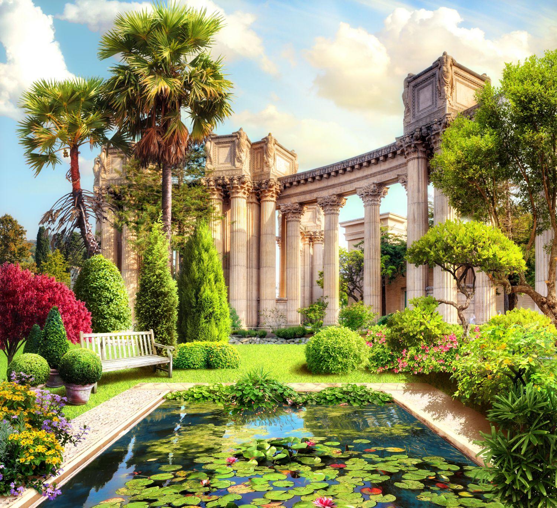 Фотообои «Величественные колонны»