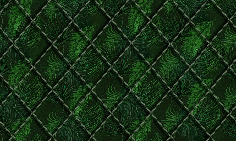 Фотообои «Листья зеленого цвета»
