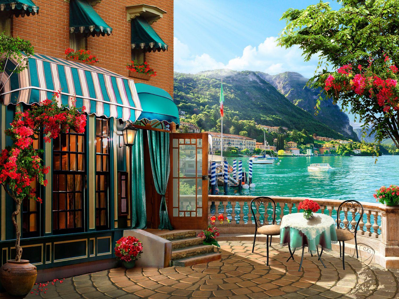 Фрески «Неаполитанское кафе»