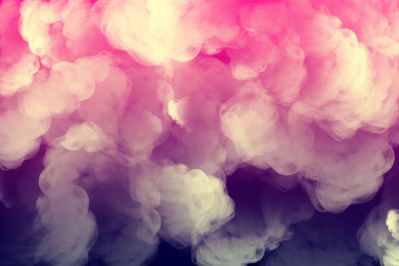 Фотообои «Розовый дым»