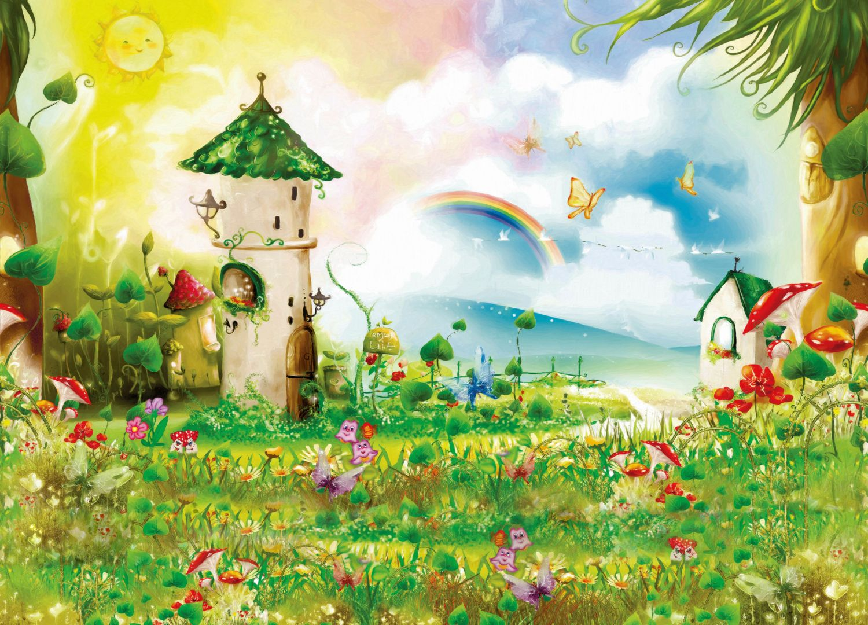 Фотообои «Волшебная полянка»