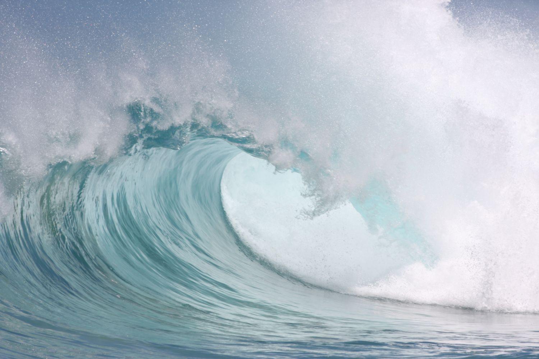 Фотообои «Крутая морская волна»