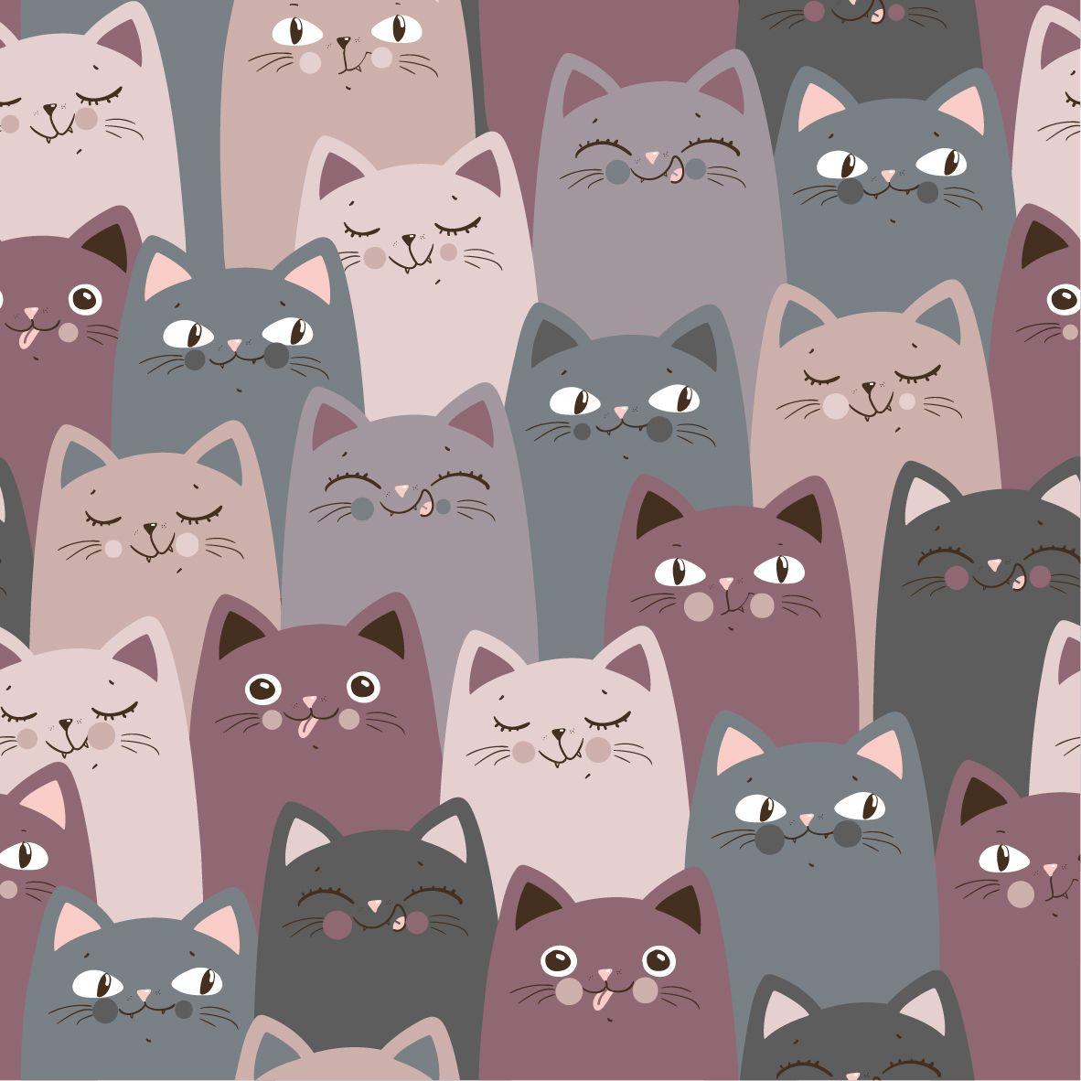 Фрески «Кошки 18»