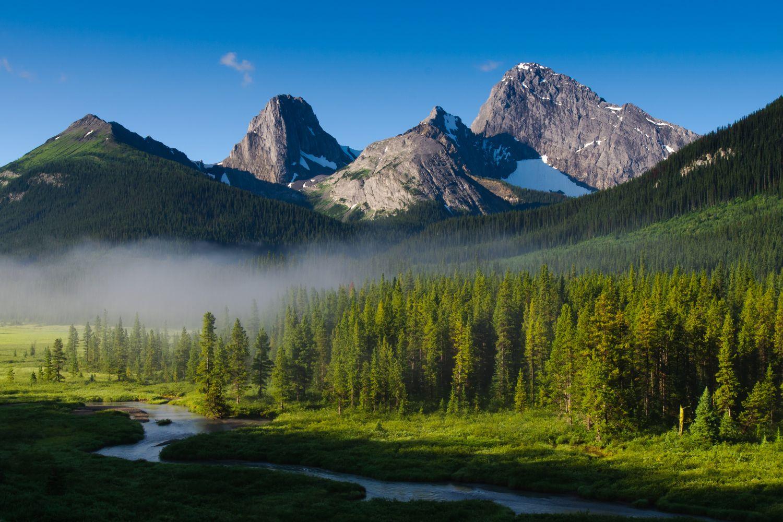 Фотообои «Утро в горах»