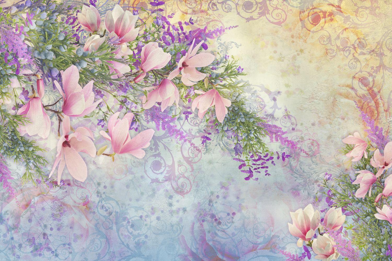 Фотообои «Узор цветов»