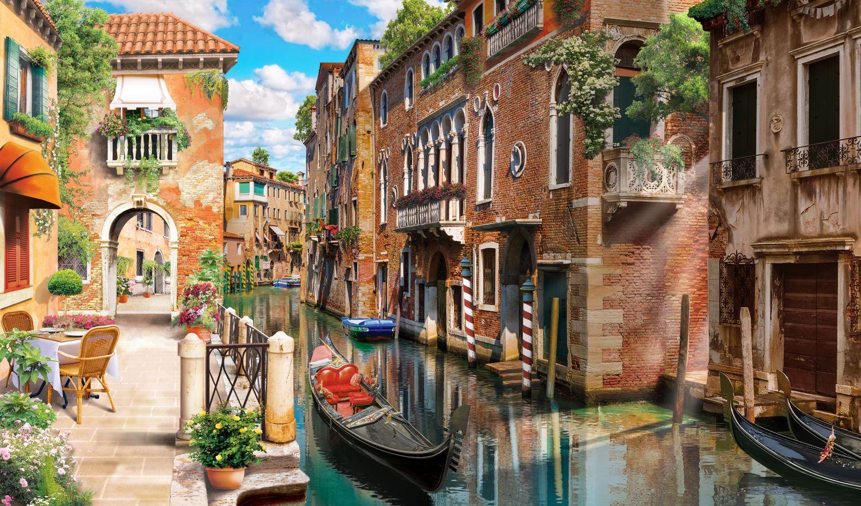 Фотообои «Красочная Венеция»