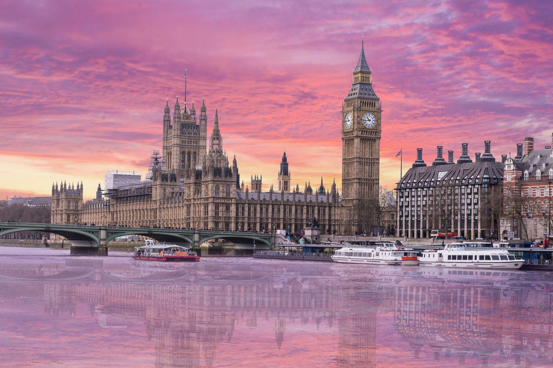 Фотообои «Закат в Лондоне»