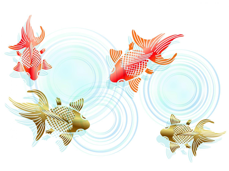 Фотообои «Рыбки»