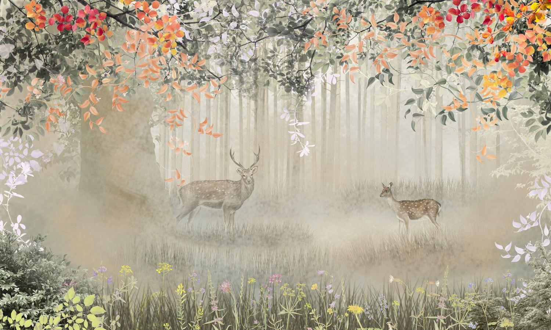 Фотообои «Осенний лес»