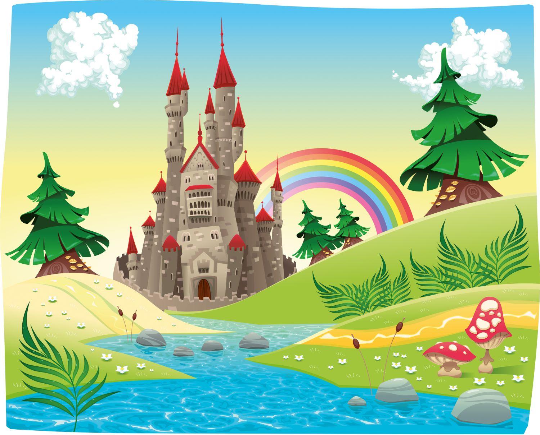Фотообои «Веселый замок»