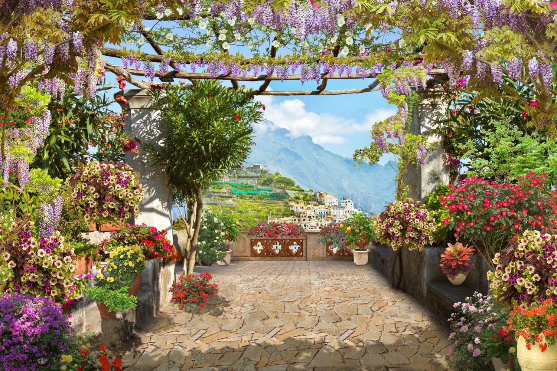 Фотообои «Яркие цветы»
