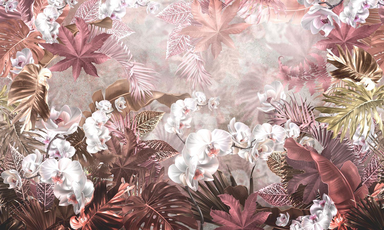 Фотообои «Орхидеи в саду»