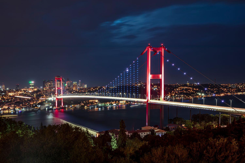 Фрески «Огромный мост»