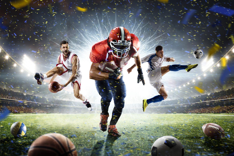 Фотообои «Энергия спорта»