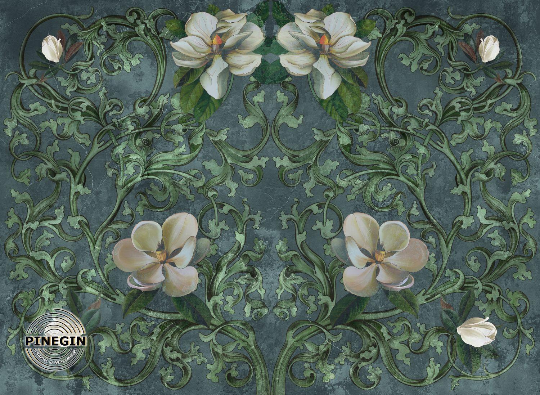 Фотообои «Цветочный орнамент»