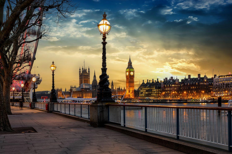 Фотообои «Волшебный вечер в Лондоне»