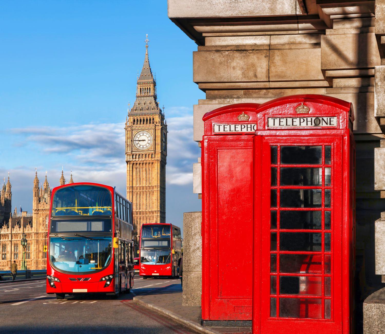 Фотообои «Солнечный день в Лондоне»
