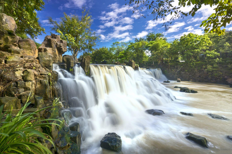 Фотообои «Каскадый  водопад»