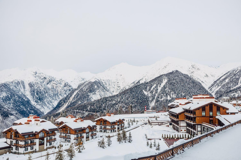 Фрески «Сочи - горнолыжный курорт»