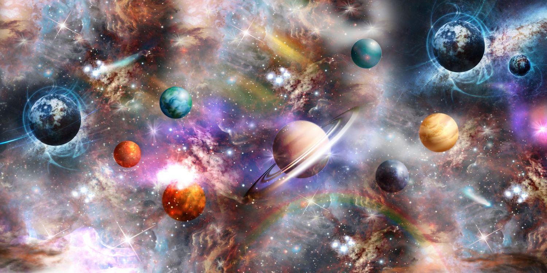 Фотообои «Парад планет»