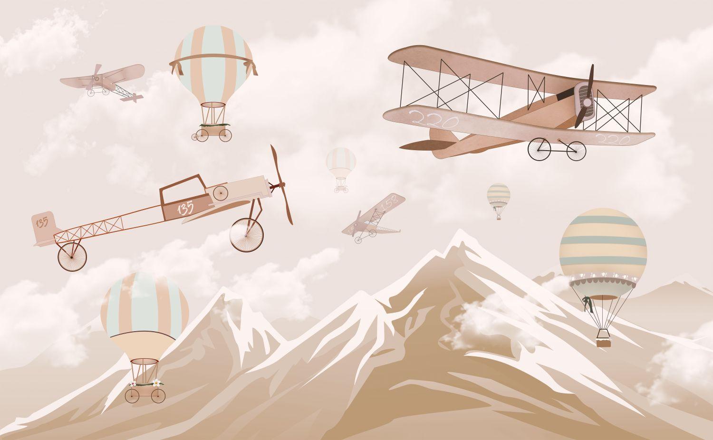 Фотообои «Самолеты»