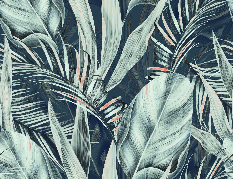 Фотообои «Тенистая листва»