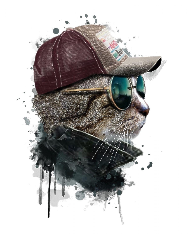 Фрески «Кошки 08»
