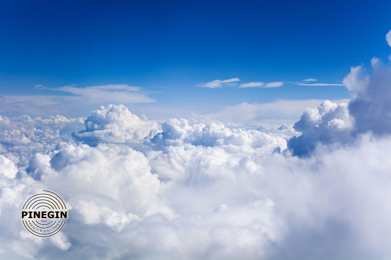 Фотообои «Облака белые»