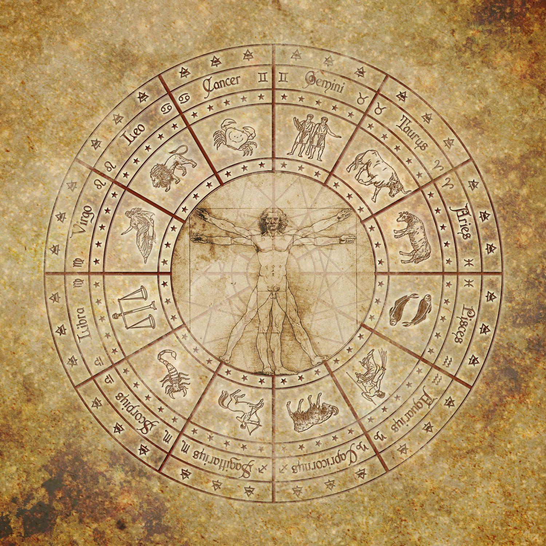 Фотообои «Античные знаки зодиака»